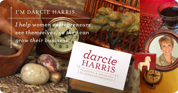 Darcie Harris, speaker for women entrepreneurs