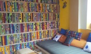 644 fabric wall